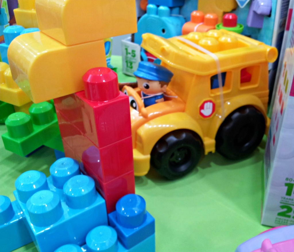 Mega Bloks Bus