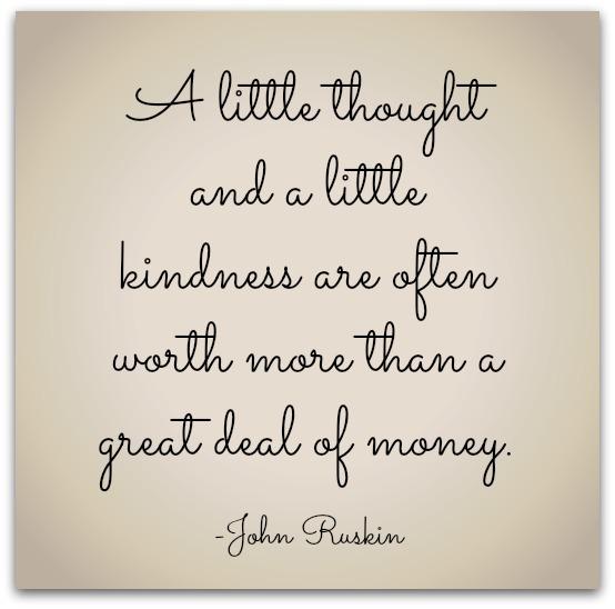 John Ruskin Kindness