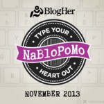 It's NaBloPoMo Time! (National Blog Posting Month)