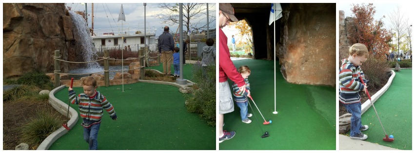 minigolf Collage