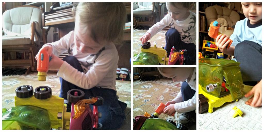 B Toys Racetruck