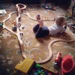 How NYC Children Play – Train Edition