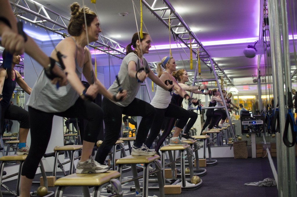 Chaise Fitness class