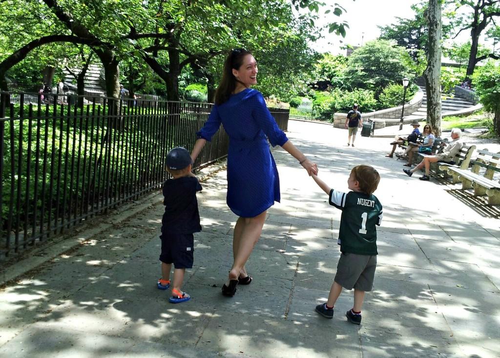 Ellie Kai Blue Dress NYCJenny