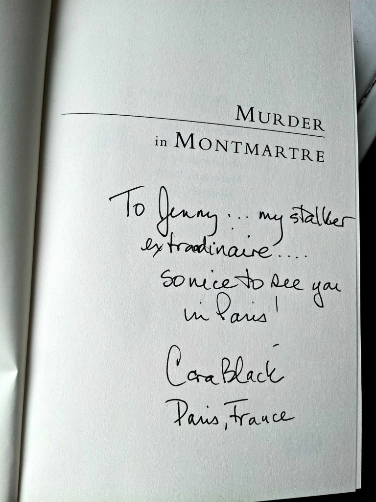 Paris Cara Black Autograph