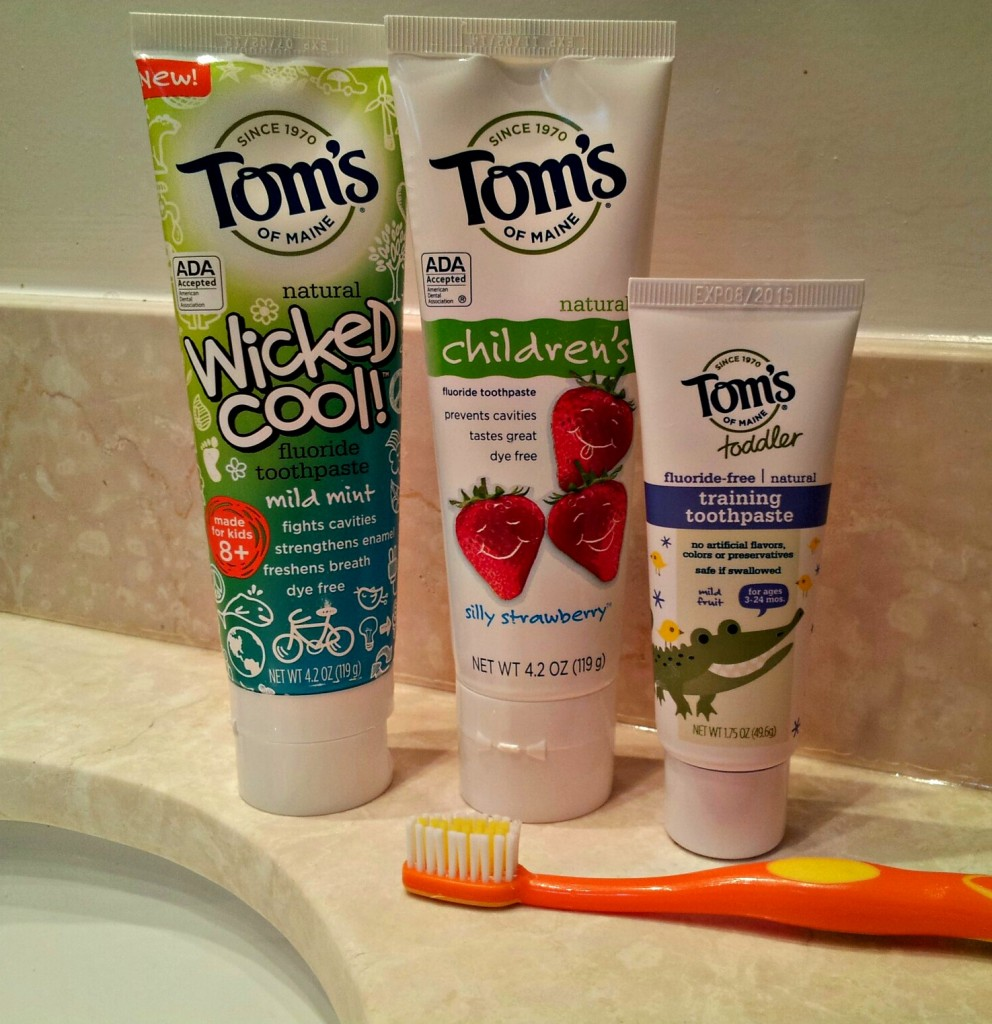 Toms Childrens Toothpastes NYCJenny