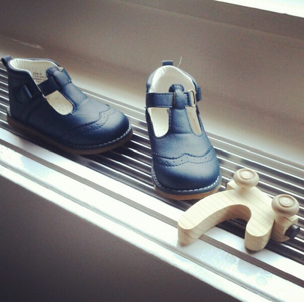 Blue Baby Shoes NYCJenny
