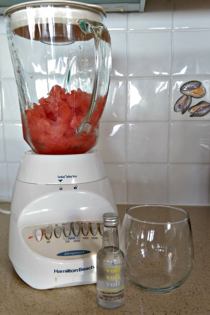 two ingredient watermelon lemon slushie nycjenny