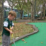 Weekend Adventure – Long Walks and Mini Golf!