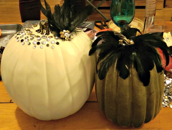 feather pumpkins nycjenny