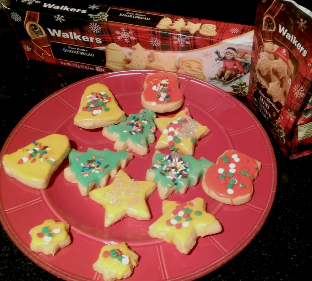 decorated walkers shortbread