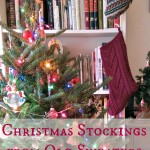 DIY Lined Christmas Stockings from Old Sweaters