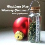Easy DIY Christmas Tree Memory Ornament