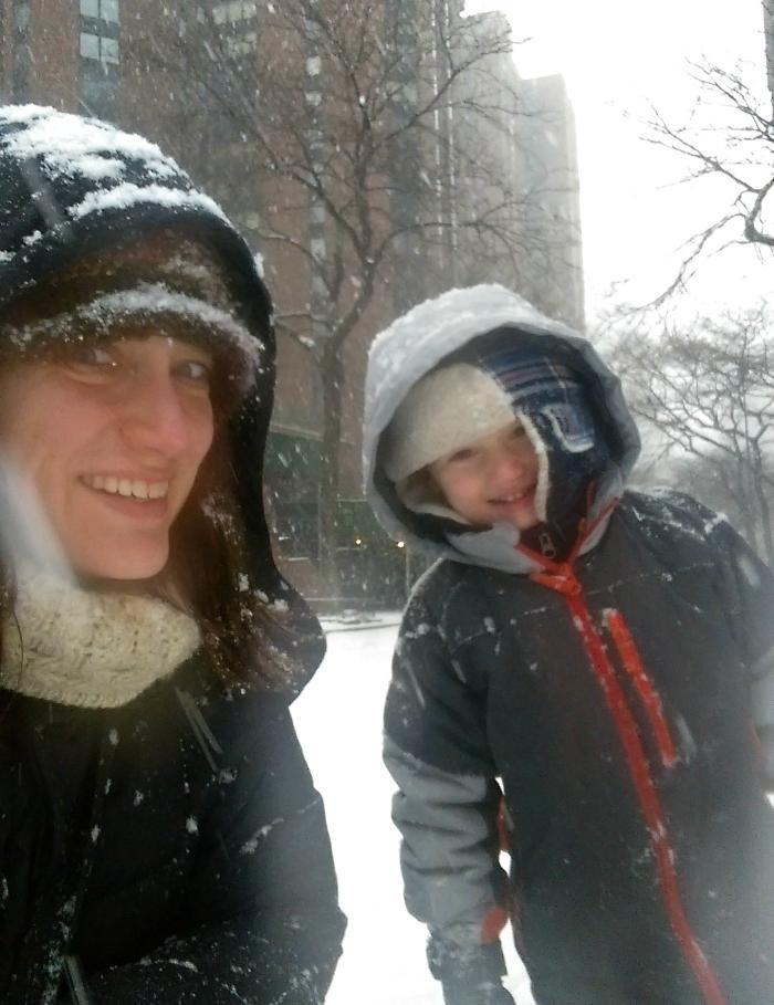 snow selfies nycjenny