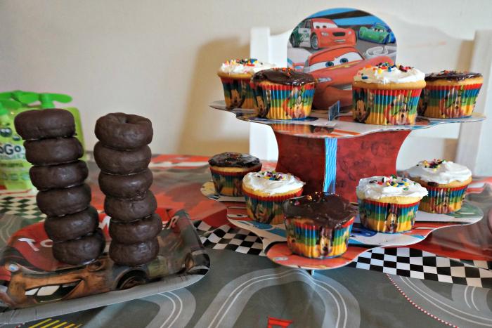 Disney Cars Cupcake Stand NYCJenny
