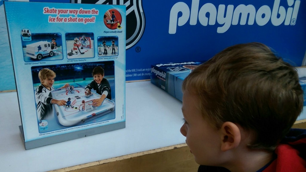 playmobil nhl display