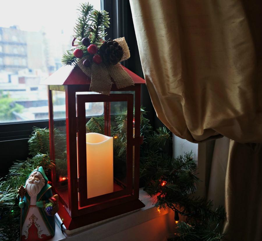 Hallmark flickering lantern
